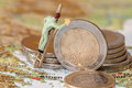 Greece debt crisis Royalty Free Stock Photo