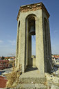 Greece, Feres, bell tower Royalty Free Stock Photo