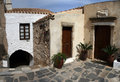 Greece, house. Monemvasia Stock Images