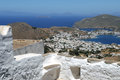 Greece - island Patmos Stock Photo