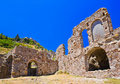 Greece mystras stare ruiny grodzkie Obraz Stock