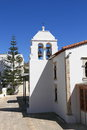 Greece preveza church agios nikolaos a in the city center of Stock Photography