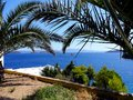 Greece, vacations on the island Skiathos Royalty Free Stock Photo