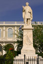 Greece Zante statue of Dionysios Solomos Royalty Free Stock Photo