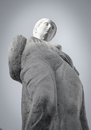 Greek ancient statue closeup of famous Royalty Free Stock Images