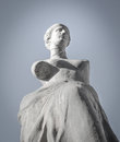 Greek ancient statue closeup of famous Stock Photography