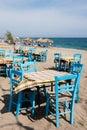 Greek beach Royalty Free Stock Photo