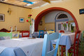 Greek Cafe Royalty Free Stock Photo