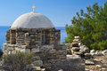 Greek chapel Royalty Free Stock Photo