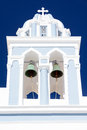 Greek Church Bell Tower With C...