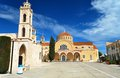 Greek church old orthodox in cyprus Royalty Free Stock Image