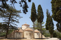 Greek church of Panagia Kera. Crete. Greece Royalty Free Stock Photo