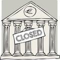 Greek closed bank