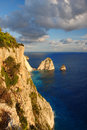 Greek coast in Zakinthos island Stock Image