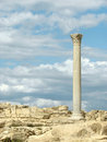 Greek column Stock Images
