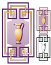 Greek Deco ornament Royalty Free Stock Photos