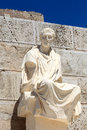 Greek dramatist Menander Royalty Free Stock Image