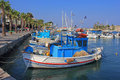 Greek Fishing Boats Royalty Free Stock Photo