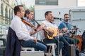Greek folklore musicians