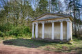 Greek folly in clumber park nottinghamshire england Royalty Free Stock Photography