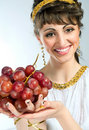 Greek girl Royalty Free Stock Photo