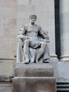 Greek god of authority larger than life statue memphis tennessee Royalty Free Stock Image