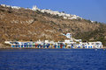 Greek island architecture Royalty Free Stock Photo