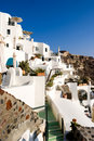 Greek island of Santorini Stock Images