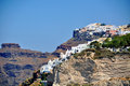 Greek island santorini greece Stock Images