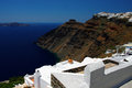 Greek island santorini greece in Stock Image