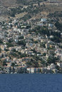 The Greek island of Symi Stock Photos
