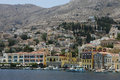 The Greek island of Symi Royalty Free Stock Photos