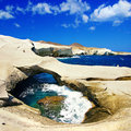 Greek islands series - Milos Stock Image