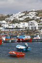 Greek Islands Series - Mykonos Stock Photo