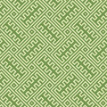 Greek key infinity seamless background texture green theme colours design Stock Images