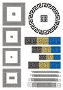 Greek key pattern Royalty Free Stock Image