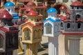 Greek little churches - chapels Royalty Free Stock Photo