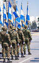 Greek military parade Stock Image
