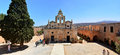 Greek Monastery landmark Royalty Free Stock Photo