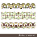 Greek ornament old vector illustration Royalty Free Stock Photo
