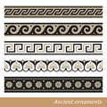 Greek ornament old vector illustration Stock Images