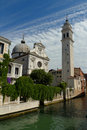 Greek Orthodox Cathedral of St. George in Venice Stock Photos