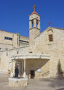 Greek Orthodox Church of the Annunciation, Nazareth Stock Image