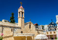 Greek Orthodox Church of the Annunciation in Nazareth Royalty Free Stock Photo
