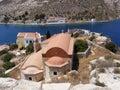 Greek Orthodox Church on Kastellorizo Stock Image