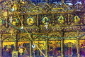 Greek Orthodox Icons Church Nativity Bethlehem Palestine Royalty Free Stock Photo