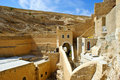 Greek Orthodox Monastery of Mar Saba (St. Sabas) i Stock Image