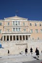 Greek Parliament, Athens Stock Images