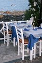 Greek restaurant Royalty Free Stock Photos