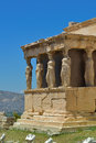 Greek ruins of Parthenon on the Acropolis in Athens, Greece Royalty Free Stock Photo